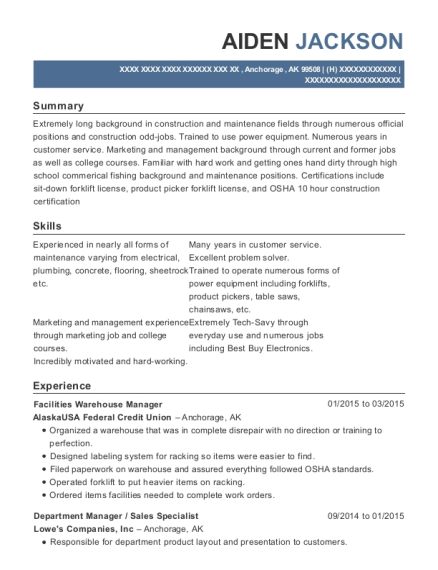 bed bath and beyond department manager resume sample