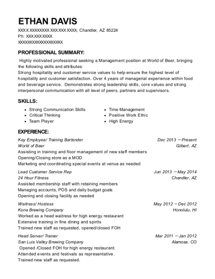 Best Key Employee Resumes | ResumeHelp