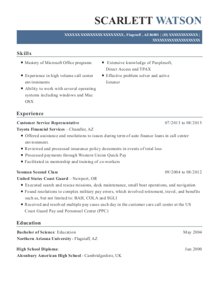 Printable Toyota Financial Customer Service Templates To Submit