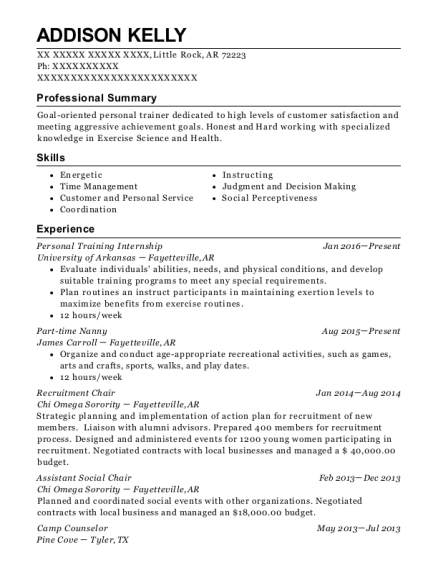 chi omega fraternity recruitment chair resume sample