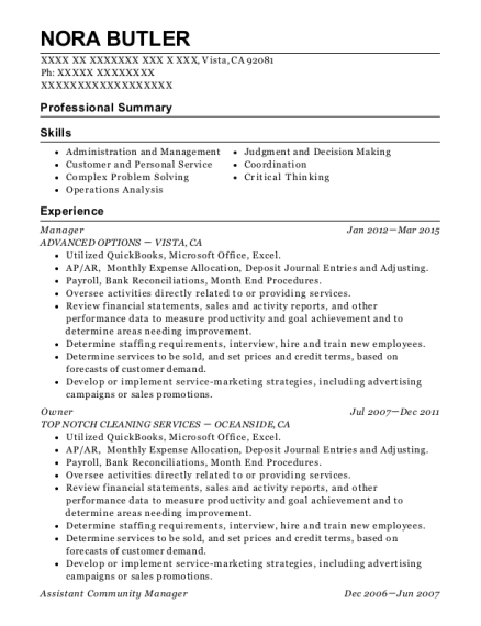 best assistant community manager resumes resumehelp