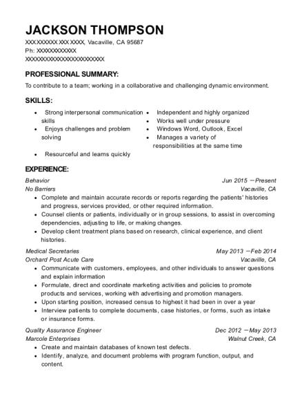 Best Quality Assurance Engineer Resumes | ResumeHelp