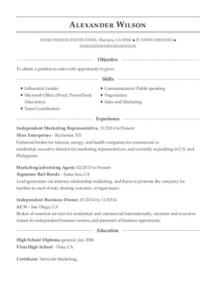 best independent business owner resumes resumehelp