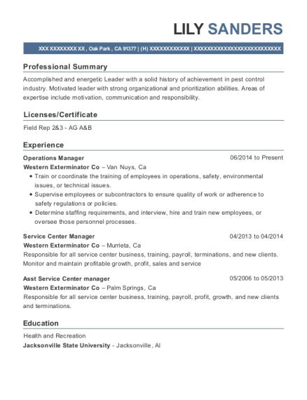 Istant Manager Resume | Valvoline Instant Oil Change Service Center Manager Resume Sample