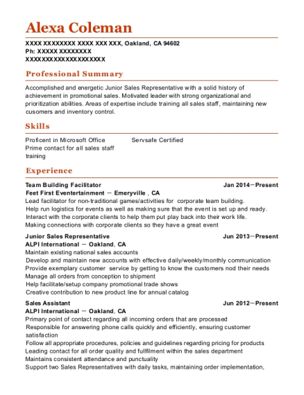 Best Team Building Facilitator Resumes | ResumeHelp