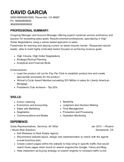Best Wholesale Account Executive Resumes | ResumeHelp