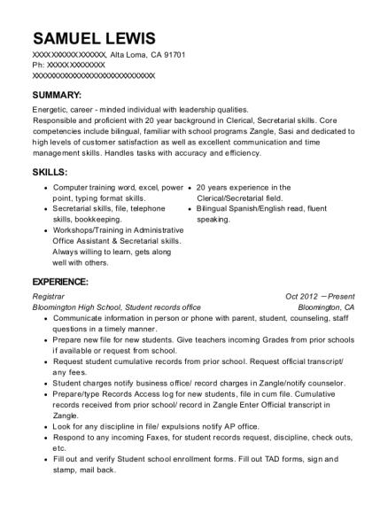 Best California Notary Public Resumes