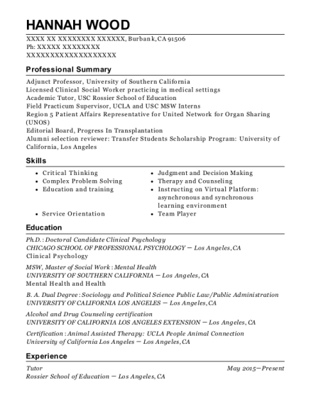 Best Home Health Medical Social Worker Resumes