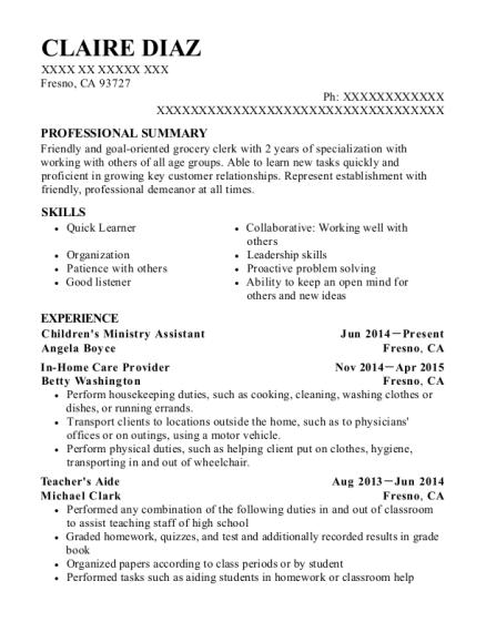 Best Childrens Ministry Assistant Resumes | ResumeHelp