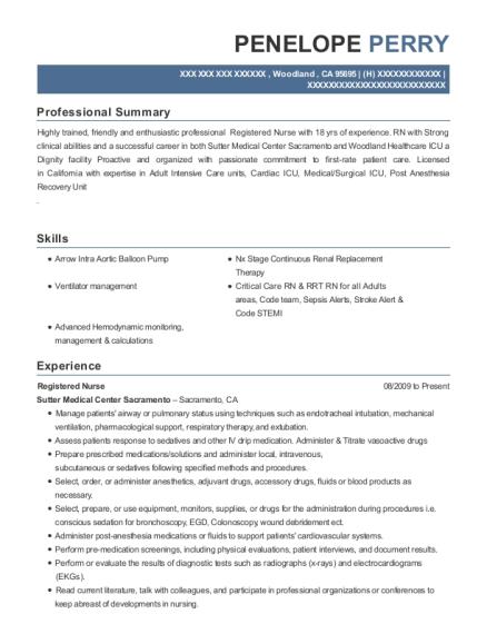 Resume creation help