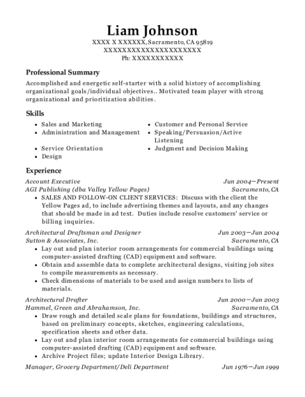 view resume - Architectural Drafter Resume