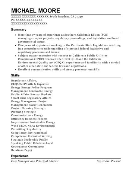 Best Public Affairs Region Manager Resumes | ResumeHelp