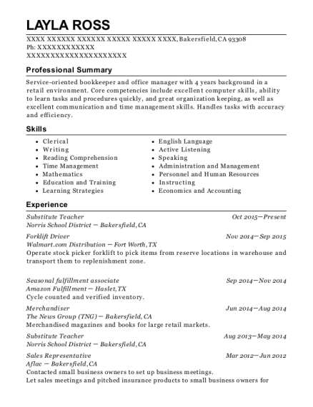 Amazon Fulfillment Center Seasonal Fulfillment Associate Resume ...