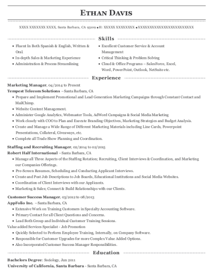 associate product marketing manager customer success manager customize resume view resume - Customer Success Manager Resume