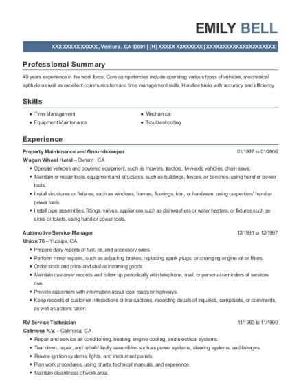 Best Automotive Service Manager Resumes | ResumeHelp