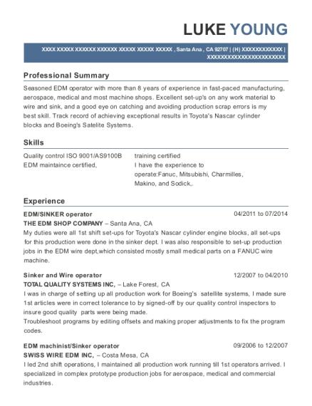 Best Edm Rcc/edc Resumes   ResumeHelp