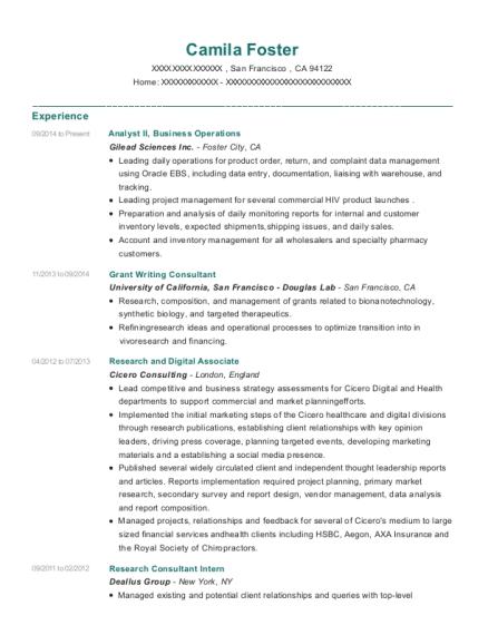 Best Grant Writing Consultant Resumes | ResumeHelp