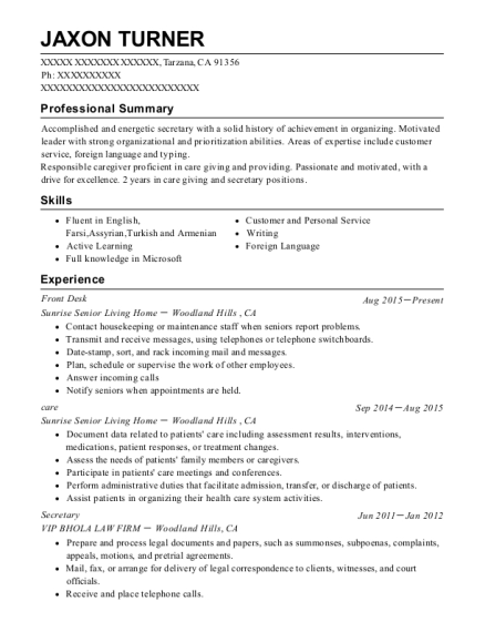 midwife resumes