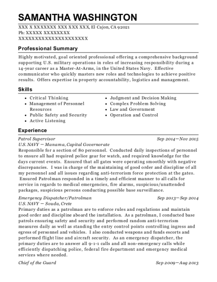 recruit resume
