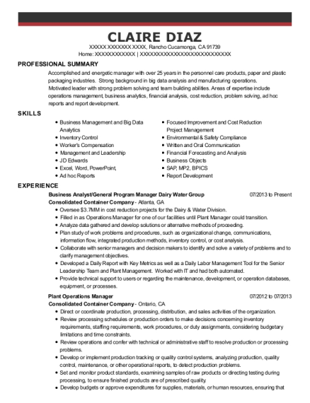Best Continuous Improvement Practitioner Resumes | ResumeHelp
