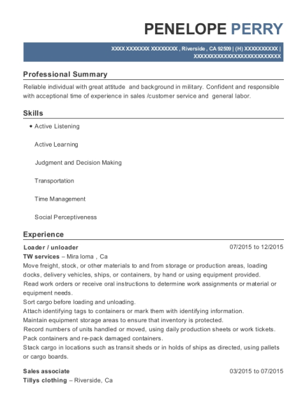High Quality View Resume