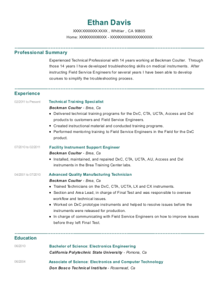 People Also Search For Customize Resume View Technical Training Specialist