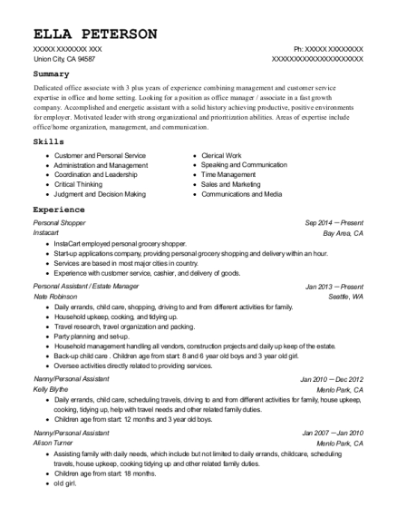 estate manager resume april onthemarch co