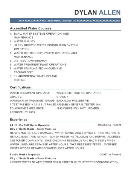 public works resume - Zoray.ayodhya.co