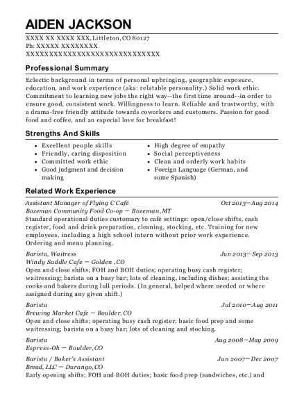 Ranch Hand Resume Gallery - resume format examples 2018
