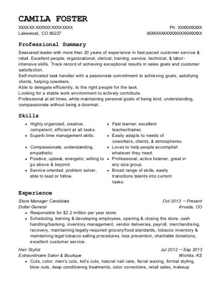 Best Admissions Registrar Resumes | ResumeHelp