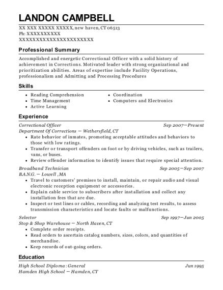 centurylink broadband technician resume sample