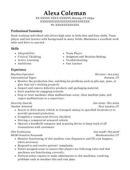 Local 577 Plumbers And Pipefitters Plumber/ Pipefitter Resume Sample ...