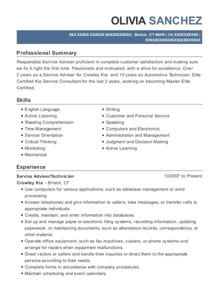 Best Automotive Technician/detailer Resumes | ResumeHelp