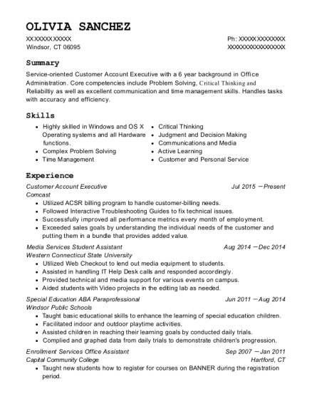 Best Special Education Aba Paraprofessional Resumes