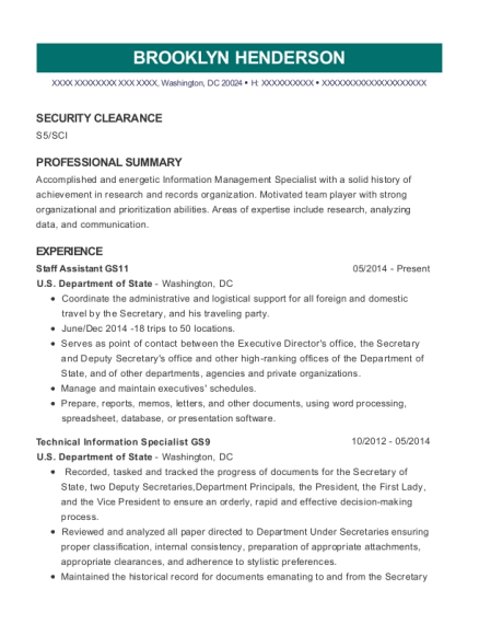 National Archives Record Administration Archives Technician Resume ...