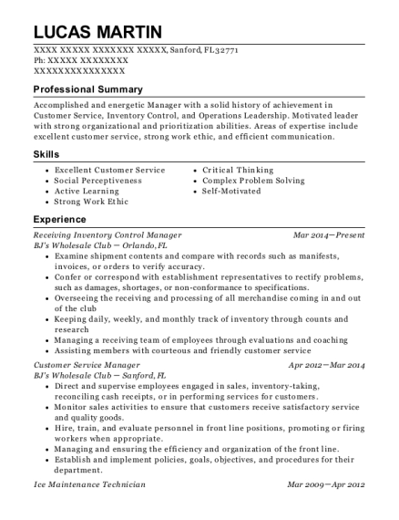 Ashley Furniture Homestore Customer Service Manager Resume