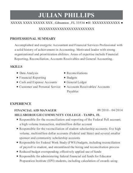 best accounting technician resumes