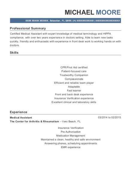 Medical Assistant Externship Resume Sasolo Annafora Co