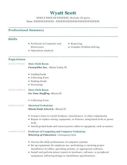 best electrical technician resumes resumehelp