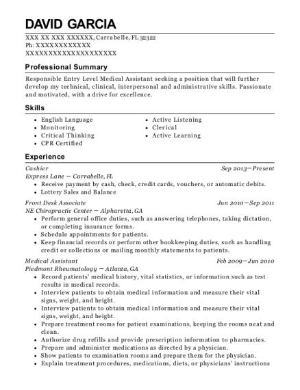 Best Optical Technician Resumes   ResumeHelp