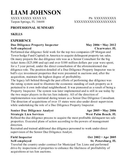 con edison field inspector resume sample kings county new york