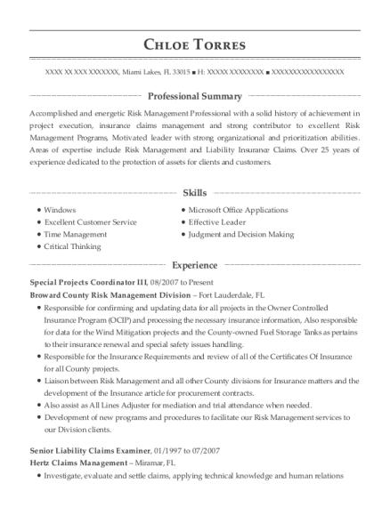 Best Senior Claims Adjuster Resumes | ResumeHelp