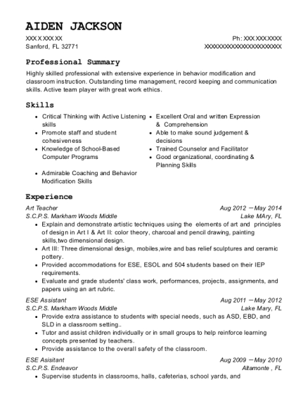 Best Behavior Management Technician Resumes | ResumeHelp
