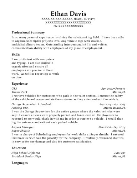 Best Airport Manager Resumes | ResumeHelp
