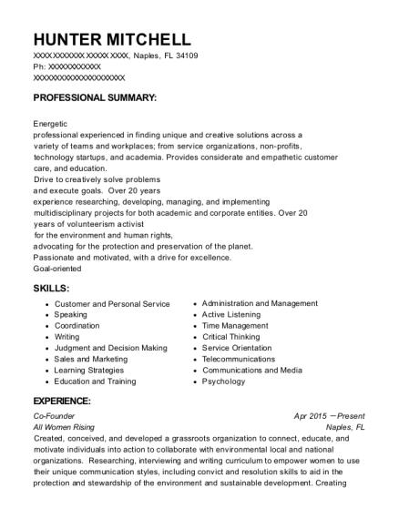 Best Sales & Marketing Operations Coordinator Resumes | ResumeHelp