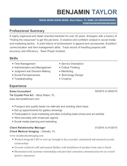 Best Client Relationship Manager Resumes | ResumeHelp