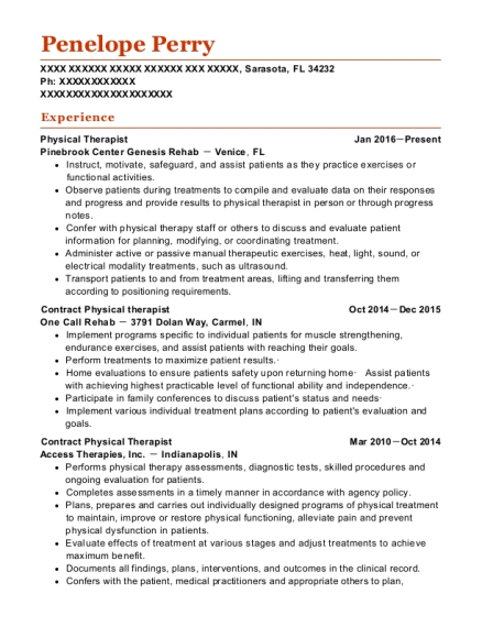 best staff pt resumes resumehelp