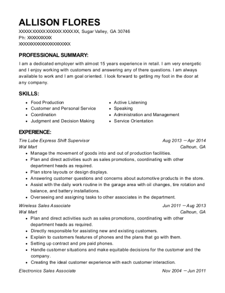 pls check cashers shift supervisor resume sample