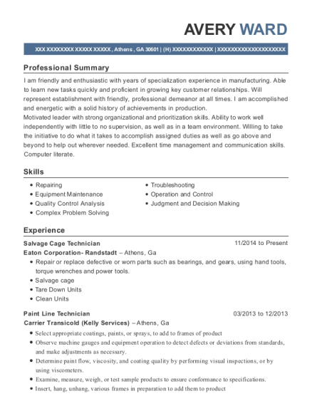 mobility solutions llc delivery resume sample