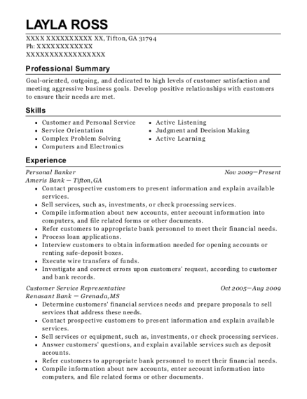 layla ross account representative resume - Account Representative Resume